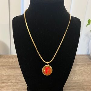 NWOT Anthro BaubleBar Constellations Gold Necklace
